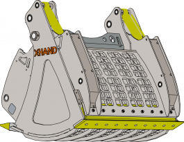 XHand Excavator Attachment